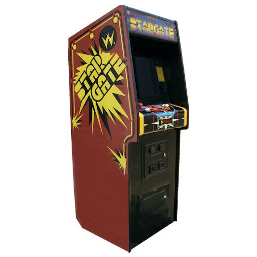 Stargate Classic Arcade Game Rental Michigan