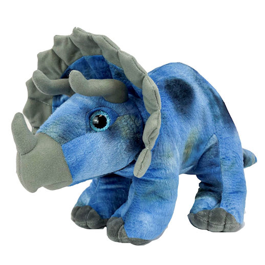 Stella the Triceratops build a bear stuff an animal party rental michigan