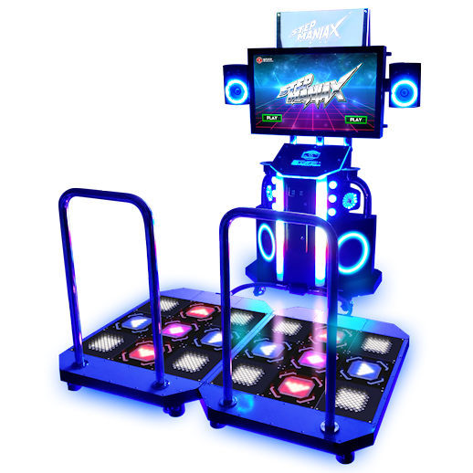 StepManiaX DDR Dance Dance Revolution Arcade Game Rental Detroit