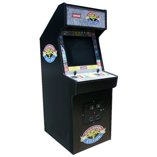 Street Fighter Champion Edition Classic Arcade Game Rental Michigan