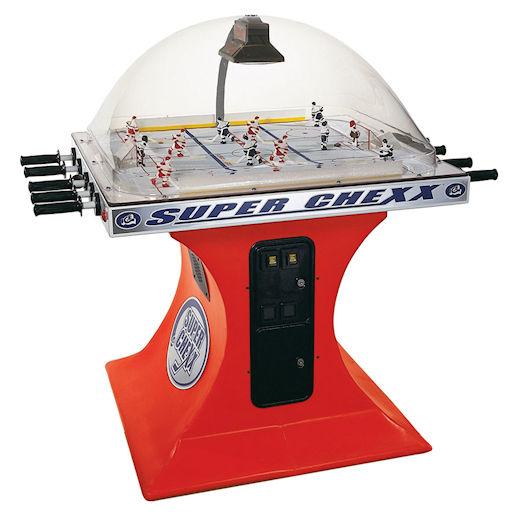 Super Chexx Bubble Dome Hockey Arcade Game Rental Michigan