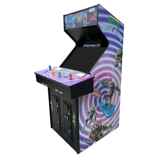 TMNT Teenage Mutant Ninja Turtles Arcade Game Rental Michigan