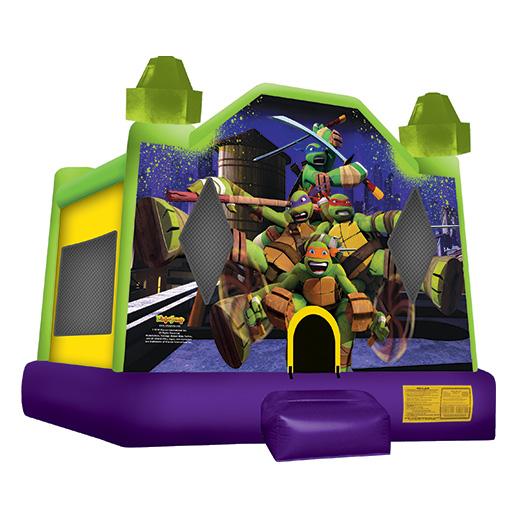 Ninja Turtles Moonwalk rental michigan party rental