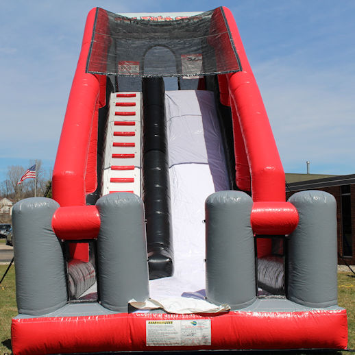 The Jump Off Base Jump Inflatable Stunt Bag Jump Extreme Interactive Slide Party Rental Michigan
