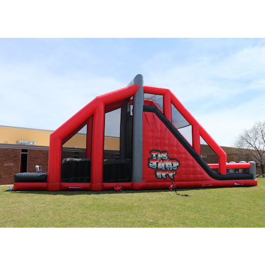 The Jump Off Base Jump Stunt Bag Jump Extreme Inflatable Interactive Party Rental Michigan
