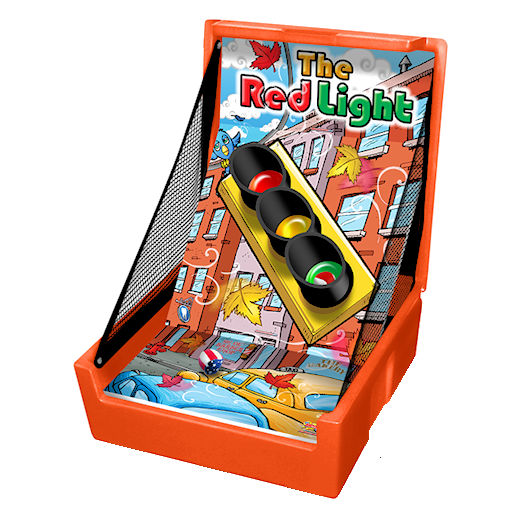 The Red Light carnival game rental michigan