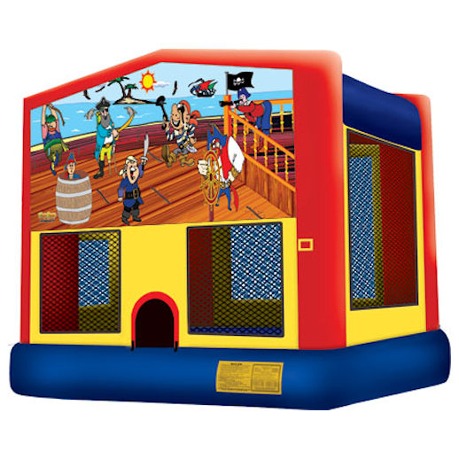 Treasure Island inflatable bounce house moonwalk party rental michigan