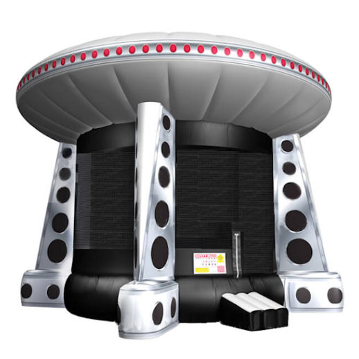 UFO inflatable bounce house moonwalk jumper moonbounce party Michigan Bounce House Rental