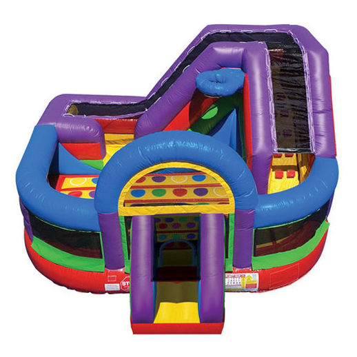 Wacky Kid Zone Combo inflatable bounce house rental michigan