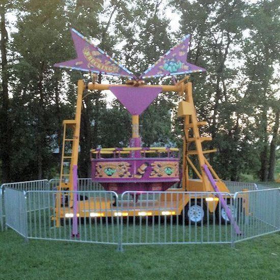 Wrecking Ball Carnival Ride rental michigan