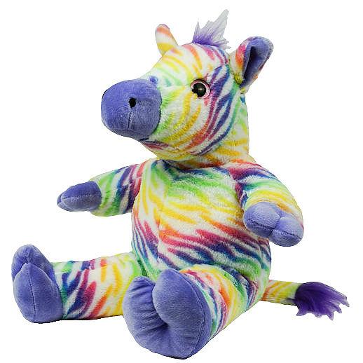 Zip the Zebra stuff an animal party rental michigan