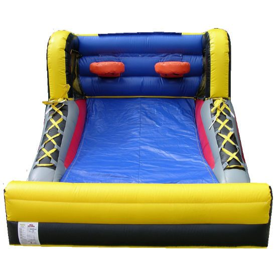 all star hoops inflatable basketball Interactive inflatable game bounce house moonwalk party rental michigan