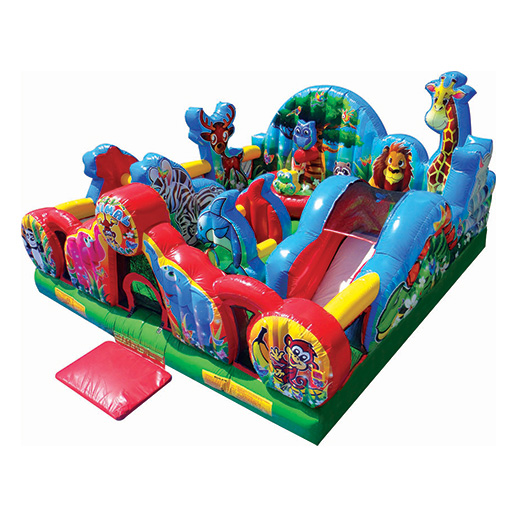 Animal Kingdom Toddler Combo inflatable bounce house rental michigan