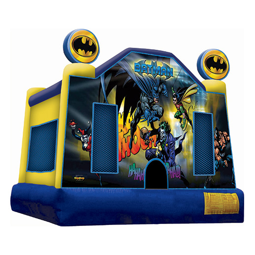 Batman Moonwalk inflatable party rental