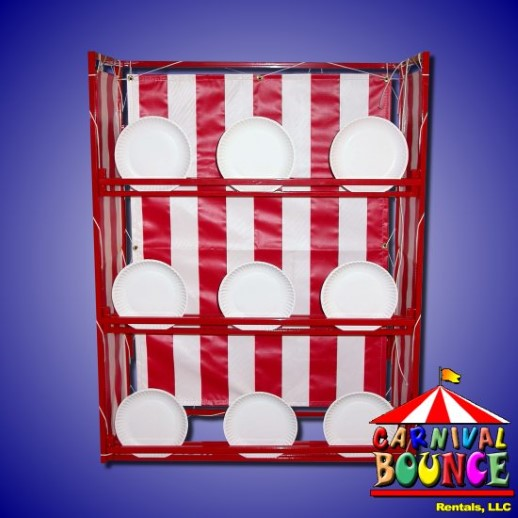 break a plate carnival game rental