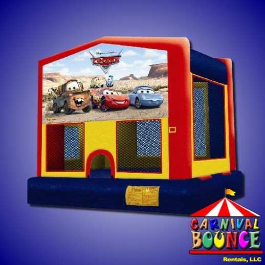Disney Cars bounce house rental michigan