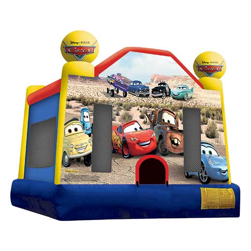 Cars Moonwalk Inflatable party rental bounce house