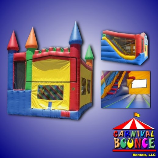 inflatable combo bounce house rental michigan