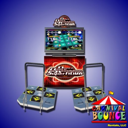dance dance revolution arcade game rental
