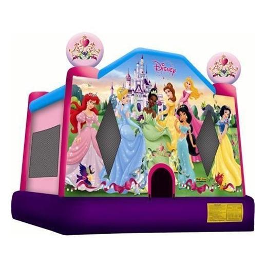 Disney Princess Moonwalk Party Rental Michigan