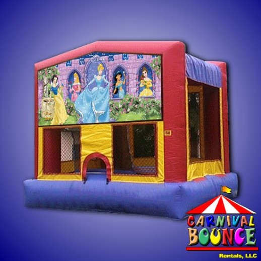 Disney Princess bounce house rental michigan