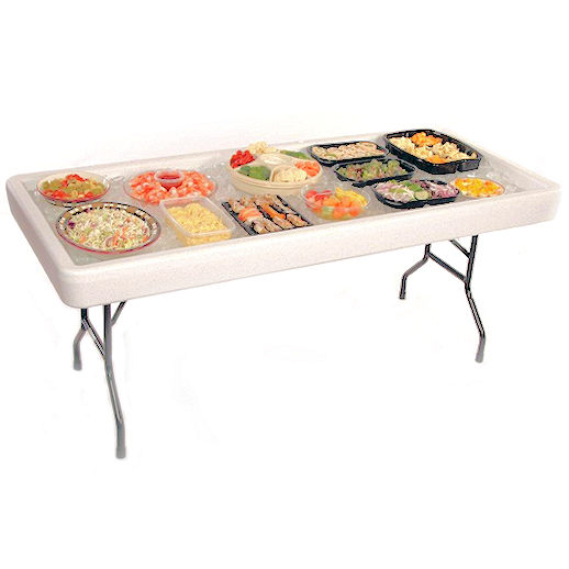fill n chill table food drink soda beer chiller chillin cooler party rental in michigan