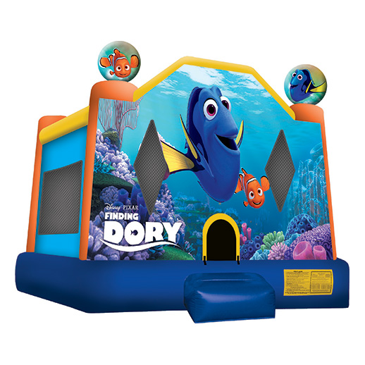 Finding Dory Moonwalk Inflatable party rental bounce house