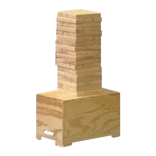 giant Jenga game party rental michigan