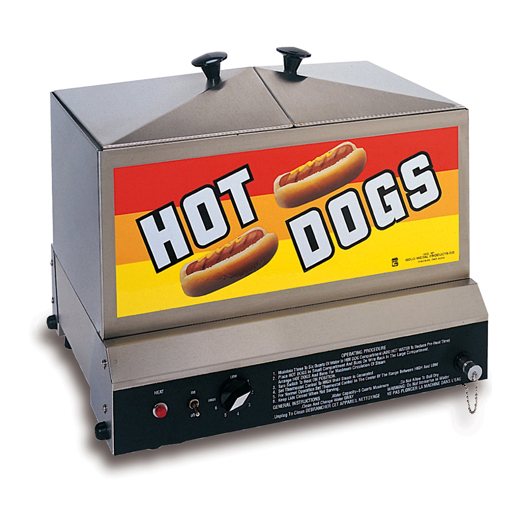 Hot Dog Steamer Steamin' Demon concession rental michigan