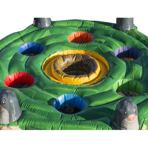 human whack a mole inflatable game rental mi