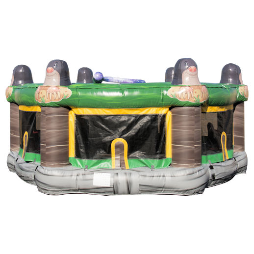 human whack a mole inflatable interactive game rental michiganl