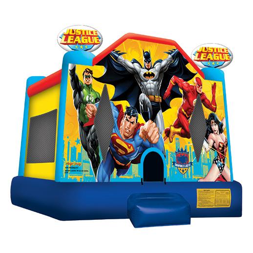 Justice League Moonwalk rental michigan
