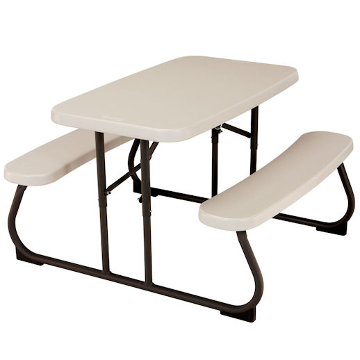 kids picnic plastic folding table party rental in michigan