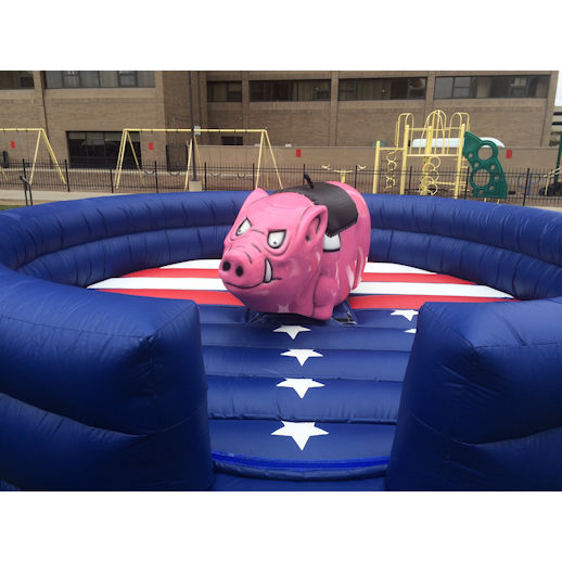 mechanical harley davidson the hog mechanical bull ride carnival ride rental michigan