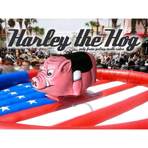 mechanical harley the hog mechanical bull ride carnival ride rental michigan
