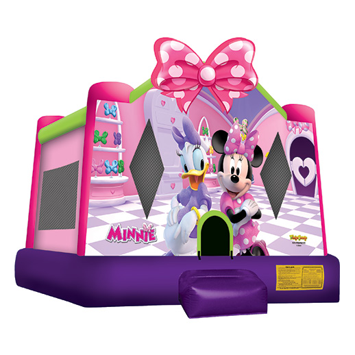 Minnie Mouse Moonwalk michigan party bounce house rental