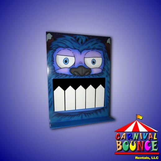 Monster Tooth Bash carnival game rental michigan