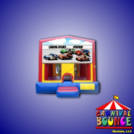 nascar bounce house rental michigan