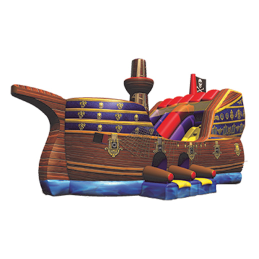 Pirate Ship Slide combo inflatable rental michigan