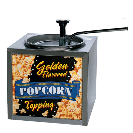 popcorn butter warmer concession rental michigan