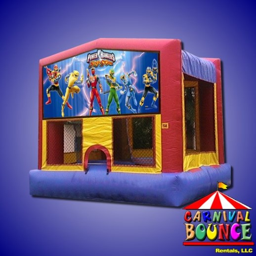 power rangers bounce house rental michigan moonwalk