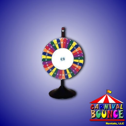 Spin Wheel rental michigan
