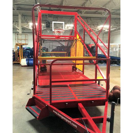 shoot n shower basketball dunk tank water game interactive party rental michigan