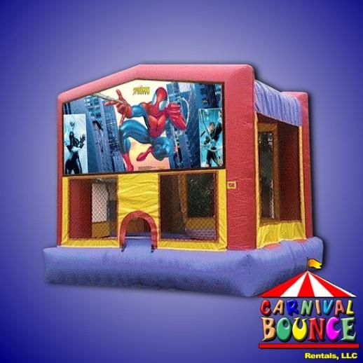 Spideman Module Bounce house moonwalk rental