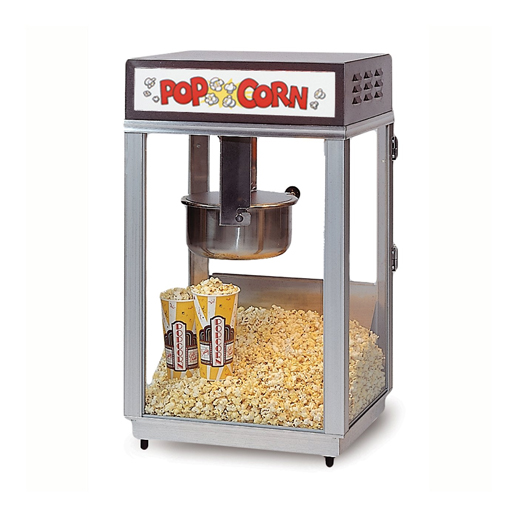 stainless popcorn machineconcession rental michigan