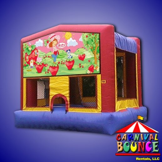 strawberry shortcake module moonwalk party rental michigan