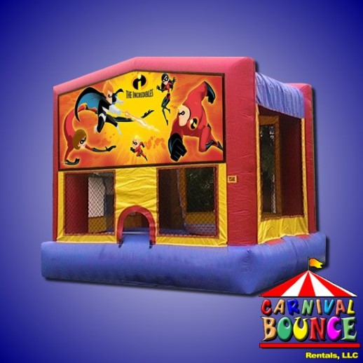 incredibles module moonwalk party rental michigan
