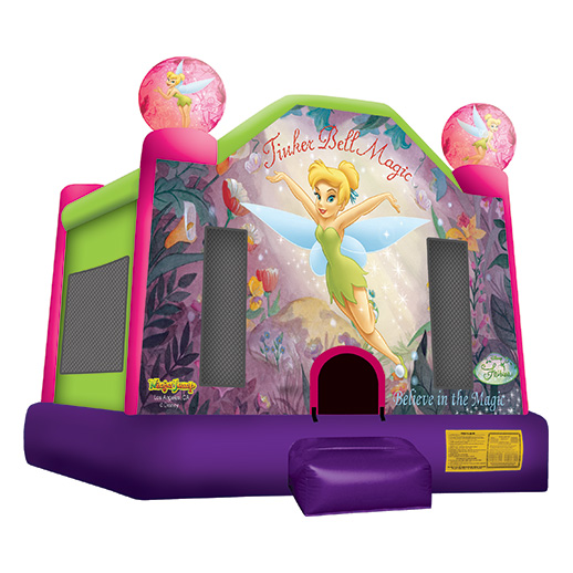 Tinker Bell Moonwalk bounce house party rental