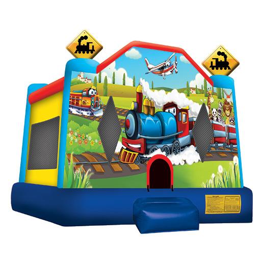 Train Bounce House rental michigan