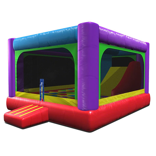 Wacky 3 in 1 Combo inflatable bounce house rental michigan